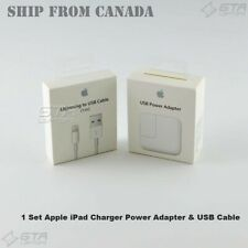 1 Set New Original Apple iPad/iPhone Charger Power Adapter & USB Cable