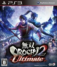 [Used] Warriors Orochi 2 Ultimate (Normal Edition) Musou  - PS3 Free Shipping