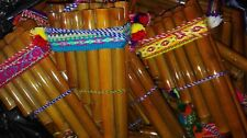 "Lot of 100 PAN FLUTE 13 PIPES beginners panpipes 6.5""Free shipping/We have store"