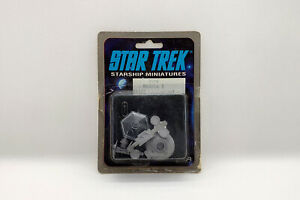 RARE 1988 STAR TREK Starship RPG Miniature REGULA 1 SPACE LABORATORY #2506 FASA