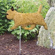 Cairn Terrier Outdoor Garden Dog Sign Hand Painted Figure Wheaten