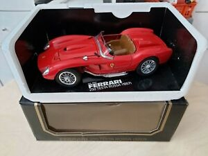Bburago Burago Ferrari 250 Testarossa Rot Sondermodell für AUCHAN Frankreich OVP