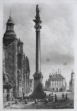 Sigismund Column Warsaw Royal Castle kolumna Zygmunta III WAZY w Warszawie