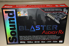 Creative Sound Blaster Audigy RX 7.1 PCIe Audio Card with High Performance Headp