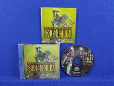 Sega Dreamcast LEGACY OF KAIN Soul Reaver Game Boxed & Complete PAL