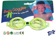 Kids Swimming Goggles & Ear Plugs / Yellow