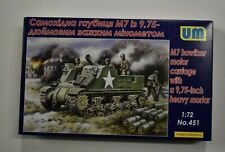Lot 11-322 * UM 1:72 Scale kit No. 451, M7 Howitzer Motor Carriage w/9.75 Inch