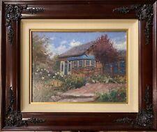 Thomas Kinkade  Gardener's Retreat Signed #11 Limited Edition Framed Canvas 2002
