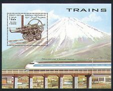 Somalia 1997 Railways/Transport/Rail/Steam/Locomotives/Mount Fuji 1v m/s n32687