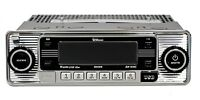 Classic Becker Mexico Europa Retro Style Stereo Radio CD USB AUX DIN BLUETOOTH