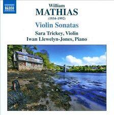 Mathias: Violin Sonatas, New Music