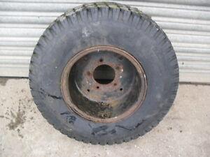 Turf Wheel c/w tyre
