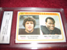 Walter Payton GRADED CARD!! Graded HOFer!!! Bears 1978 Topps #333-8!!