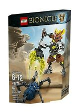 LEGO BIONICLE / 70779 PROTECTOR OF STONE / RARE✔ BNIB NEW SEALED✔ FAST POST✔✔