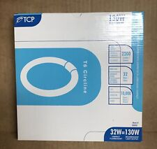 TCP CFL Circle Lamp, 130W Equivalent, Soft White 2700K T6 Circline Lamp #32032