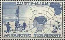 Timbre Explorations Polaires Antarctique Australie 1 ** lot 14957
