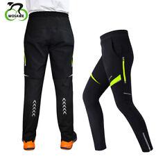 Men's Thermal Winter Bike Cycling Waterproof Pants Bicycle Windproof Trousers