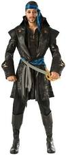Men's Captain Blackheart Pirate Costume Pirates of the Caribbean Size Standard