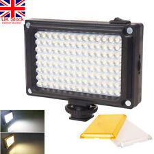 UK Rechargable LED Video Light Lamp Photo Studio Wedding Party for DSLR Camera