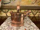 Antique English Victorian Copper Ink Filler Can Circa 1880