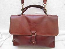 Magnifique  sac à main style Docteur  VINTAGE  J.B. CELI en cuir TBEG bag