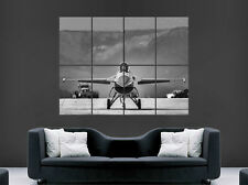 F16 FALCON FIGHTER JET POSTER  AEROPLANE HUGE LARGE WALL ART
