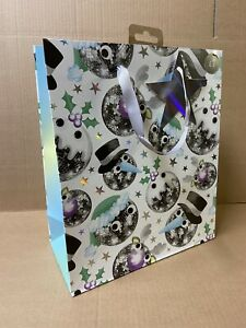 36 DISCOBALL BAUBLE CHRISTMAS GIFT BAGS JOBLOT SHOP PRESENTS WHOLESALE NEW XM2
