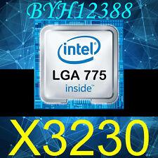 CPU Intel Xeon X3230 Quad Core CPU SLACS 2.66GHz 1066MHz PROCESSOR CPU