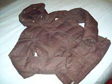 Nike ACG Brown Hooded Jacket Grey Goosedown Size S (8-10)