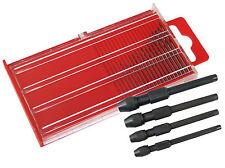 20pc Micro HSS Drill Bits & 4pc Pin Vice Set PRECISIONE PROFESSIONAL JEWELLRY