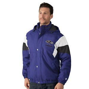 Baltimore Ravens VINTAGE BREAK-OUT Hooded Full Zip/Button NFL Jacket