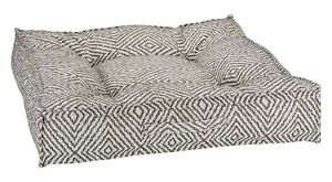 Bowsers Pet Piazza Bed Micro Jacquard Microlinen Microvelvet