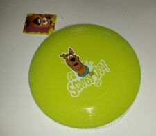 New Scooby Doo! Doggy Disc Flying Disc Frisbee Dog Toy NWT Neon Green