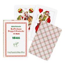 Piatnik Kaffeehaus Doppeldeutsche Nr. 1846 Spielkarten