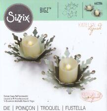 FUSTELLA BIG SHOT SIZZIX  FIOCCO DI NEVE SOTTO CANDELA 662286