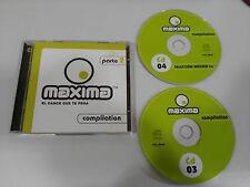 MAXIMA FM COMPILATION EL DANCE QUE TE PEGA PARTE 2 - 2 X CD VALE MUSIC 2002