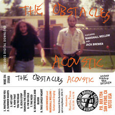 THE OBSTACLES, CASSETTE, PRECURSOR TO SACCHARINE TRUST, JACK BREWER, SST RECORDS