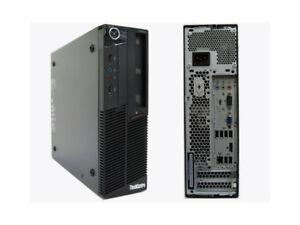 LENOVO M90p SFF i5 650 3.2GHz 4G RAM 250GB HDD DVDRW WIN 10 PRO