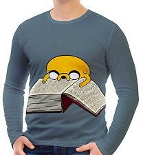Adventure Time Herren Langarm T-Shirt Tee wa2 aao30407