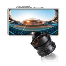 7.5mm f2.8 fisheye lens Manual For Canon EOS-M mount M1/2 M3 M5 M10 DSLR