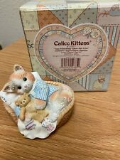 Calico Kitten By Enesco-Your Friendship Takes the Prize