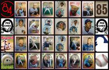 1984 O-Pee-Chee MLB Baseball Sticker Complete Set of 386 Nolan Ryan Mattingly