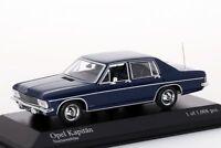 Opel Kapitän 1969 blau Minichamps 1:43 NEU/OVP