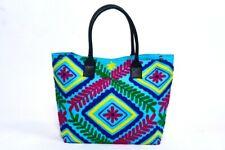 Indian Bag Woman Suzani Shopping Bag Embroidery Beautiful Travel Makeup Bag