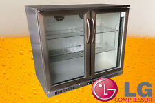 Stainless Steel 210L REFRIGERATOR BEER COOLER DISPLAY BAR FRIDGE  UNDER BENCH
