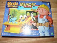 2001 Milton Bradley Hasbro Bob The Builder Memory Game Preschool Kids Learn 100%