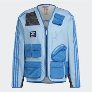 adidas x Fuckingawesome FA Fishing Jacket (Ash Blue) Size Large MSRP $200