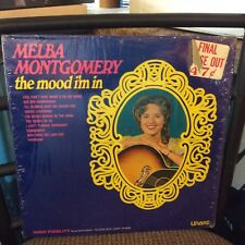 Melba Montgomery The Mood I'm In EX In Shrink Top Hit: Constantly LP