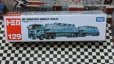 Tomica #129 Ube Industries Doubles Trailer New In Box