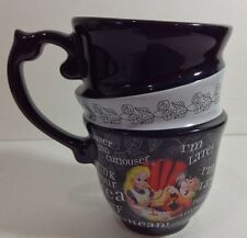 Disney Parks Alice in Wonderland Triple Tea Cup Set Mad Tea Party(SingleCup) New